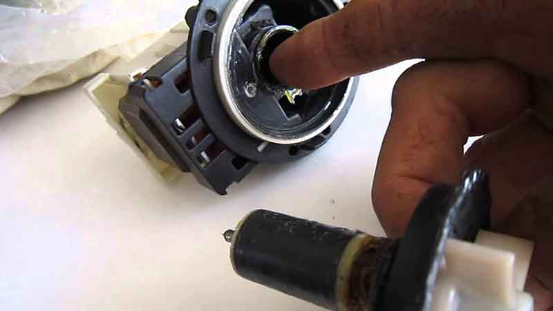 Ремонт насоса стиральной машины индезВазы своими руками