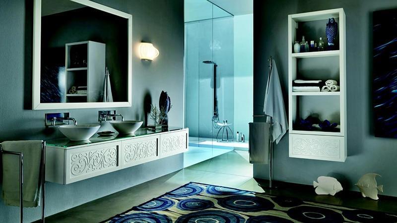 Открытый пенал для ванной