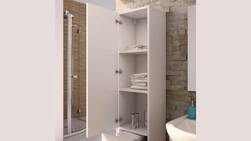 Функциональность пенала в ванной