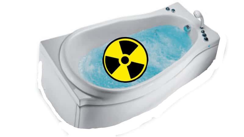 Радоновые ванны - польза и вред