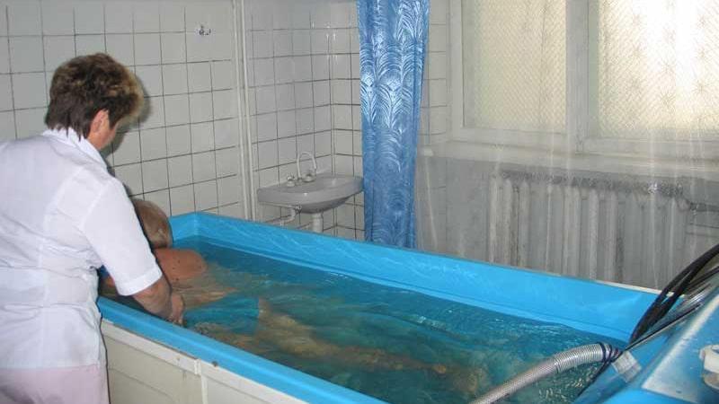 Искусственная радоновая ванна