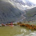 Прием радоновой ванны в естественном источнике