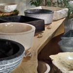 Ассортимент каменных умывальников