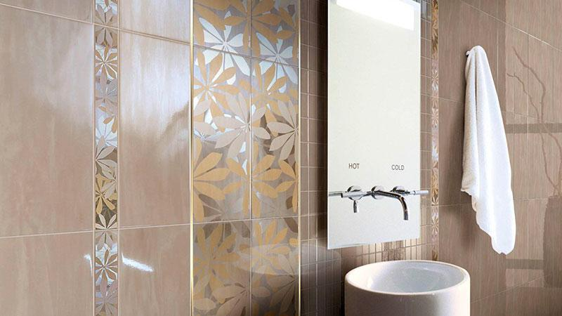 Рисунок из плитки для ванной онлайн
