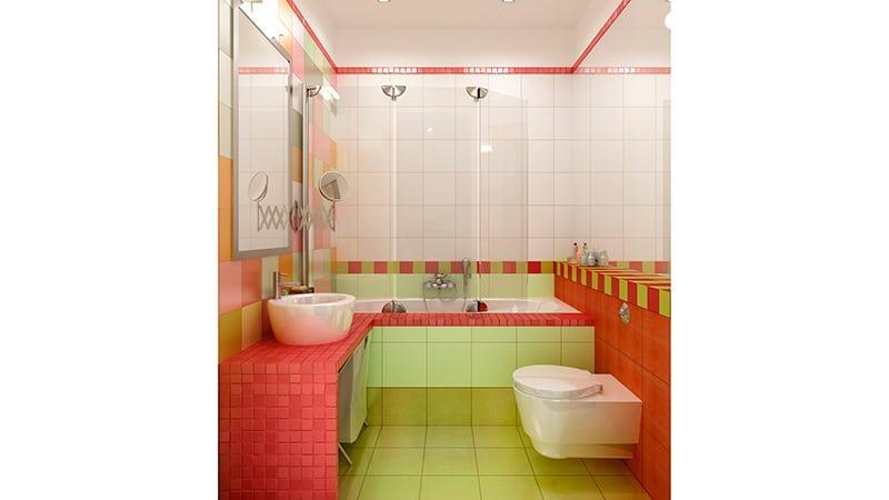 Пошаговая отделка ванной