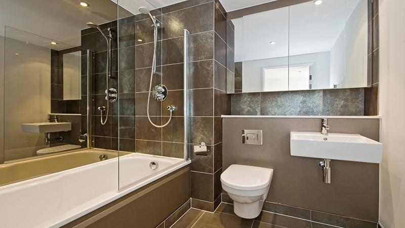Современная отделка ванной