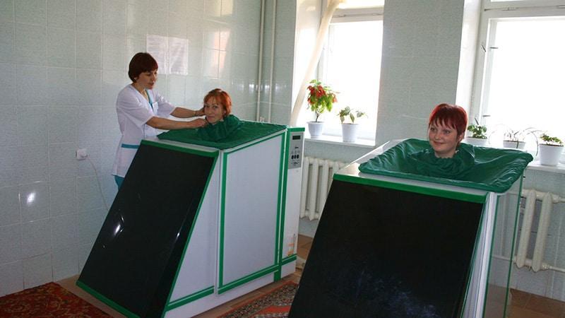 """Сухая углекислая ванна """"Реабокс"""""""