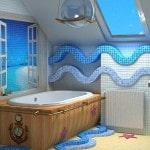 Дизайн морского интерьера