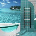 Морская тематика в дизайне ванной комнаты