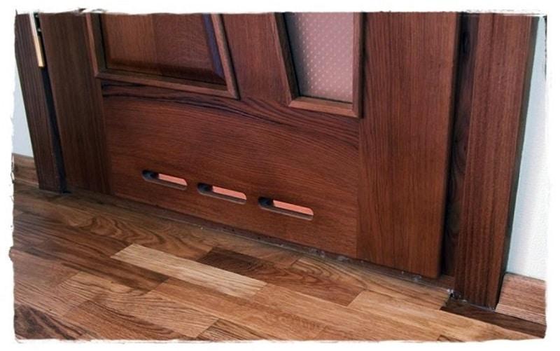 вентиляционные решетки для двери в ванную