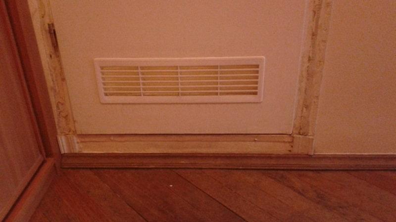 дверные вентиляционные решетки деревянные металлические