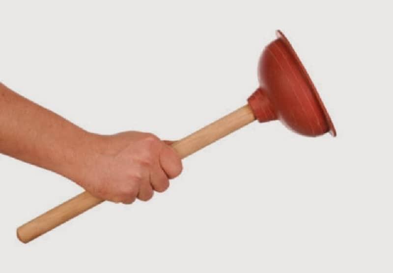 как убрать засор в раковине в домашних условиях устранить
