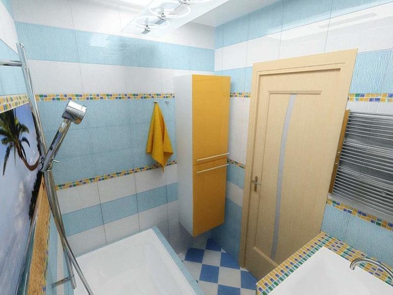 ширина двери в ванную комнату